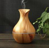 Aroma Diffuser - Luchtbevochtiger Aroma Therapie + NEUTRIHERBS Olie 10 ML - Vernevelaar – Verstuiver – Lichtbruin