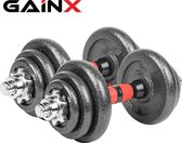 GainX® dumbells set - Halterset - Dumbbells - Giet