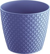 Prosperplast Orient bloempot DOR130-285C - blauw kunststoef