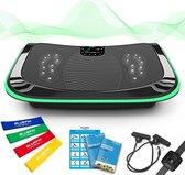 Bluefin Fitness 4D Vibratietrainer | Trilplaat | Fitness | Bluetooth speaker | 180 Niveaus | 10 Programma's | Afstandsbediening