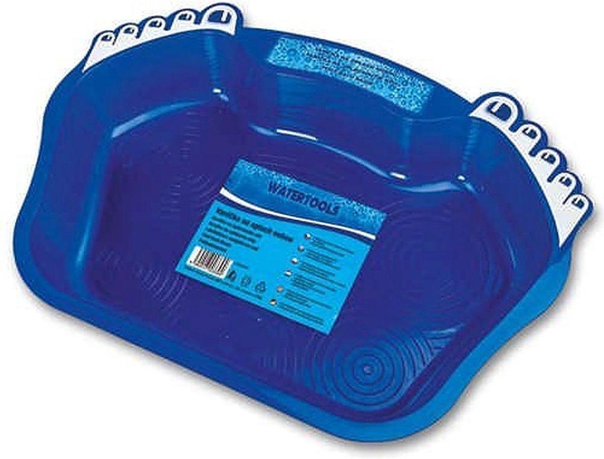Voetenbad blauw 55x39x9 cm - zwembadaccessoire