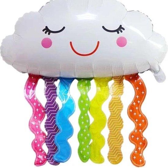 Ballon wolk regenboog