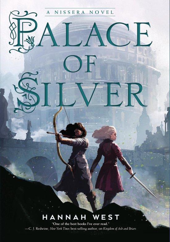 Boek cover Palace of Silver van Hannah West (Paperback)