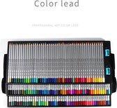 Kleurpotloden voor Volwassenen en Kinderen - 150 Stuks – Professioneel Tekenset - Uitgebreide Art Set - Inclusief Opbergdoos en Puntenslijpers - Met Kleurcodes