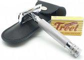 Safety razor set – klassiek scheermes – scheermes – shavette - double edge safety razor  – scheerset mannen – Scheerapparaat Mannen – Barbiersmes - Shaver -