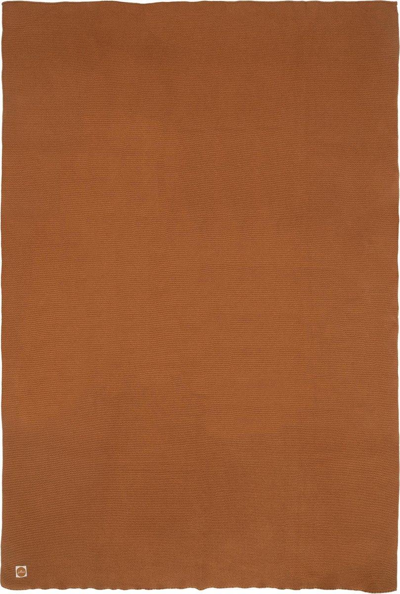 Jollein Wiegdeken - Basic knit - 75 x 100 cm - Caramel