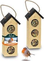 Complete Vogel-Buffet Chalet 3 Vogelvoederhuisje v