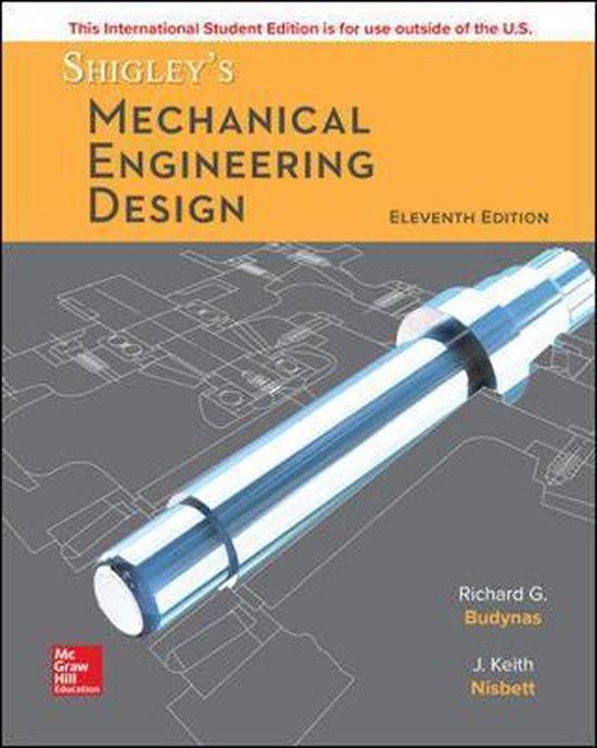 ISE Shigley's Mechanical Engineering Design