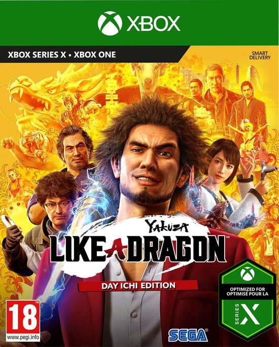 Yakuza - Like A Dragon - Day Ichi Edition - Xbox One + Xbox Series X