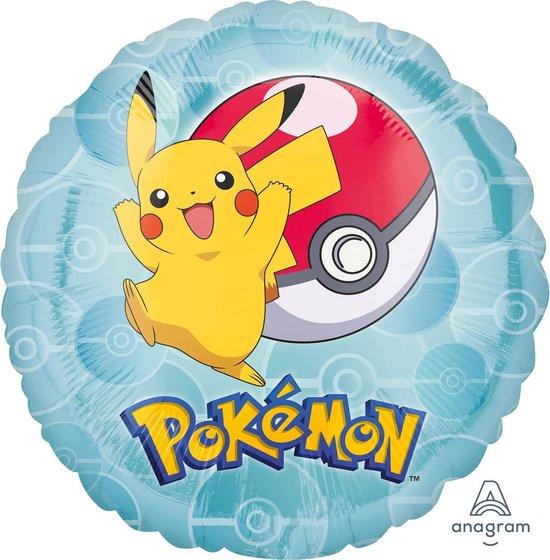 AMSCAN - Pikachu ballon - Decoratie > Decoratie beeldjes