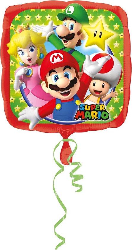 Super Mario Helium Ballon 43cm leeg
