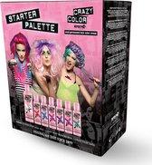 Crazy Color Semi permanente haarverf kit Starter Palette Multicolours