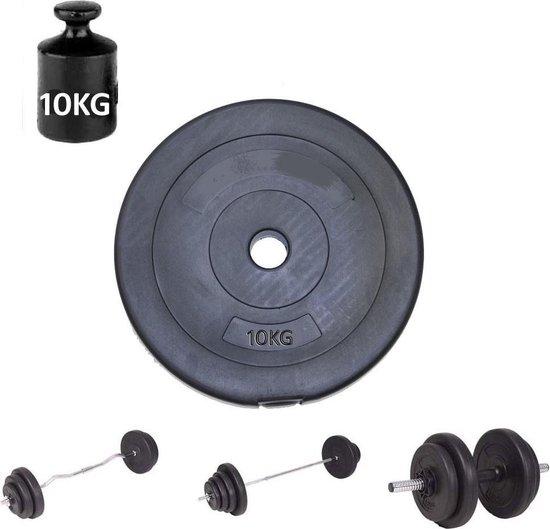 Halterschijf Gewichtsschijf 10 kg  – Fitness Gewicht – Dumbbell gewichten - Haltergewicht 10kg