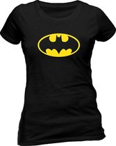 DC Comics Batman classic logo DC Comics Dames T-shirt Maat XL