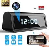 Wifi verborgen camera digitale wekker - Bewegings detectie & Alarm -...