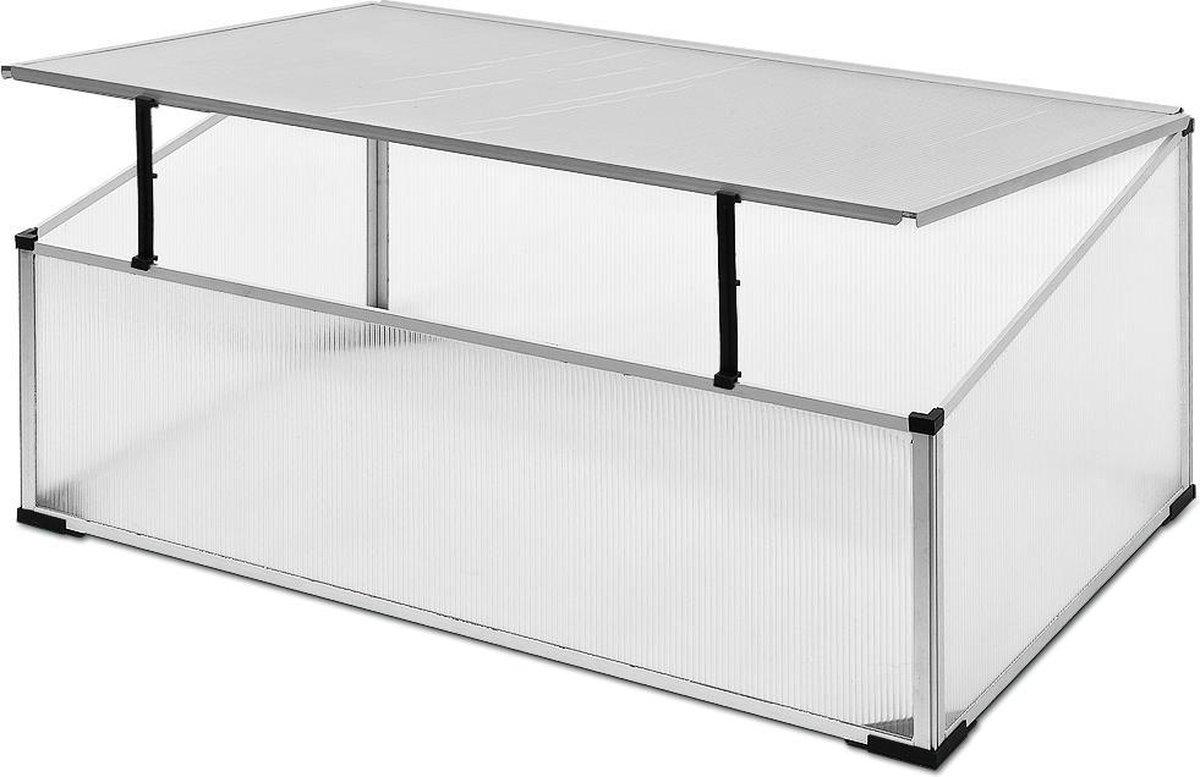 Broeikas / kweekkas / Tuinkas - Aluminium - 110 x 60 x 40 cm