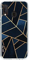 Samsung Galaxy A20e hoesje Navy Stone Casetastic Smartphone Hoesje softcover case