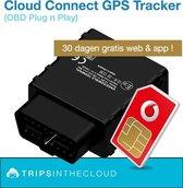 Plugin OBD2 GPS tracker voor een sluitende rittenregistratie incl SIM (roaming in de EU)