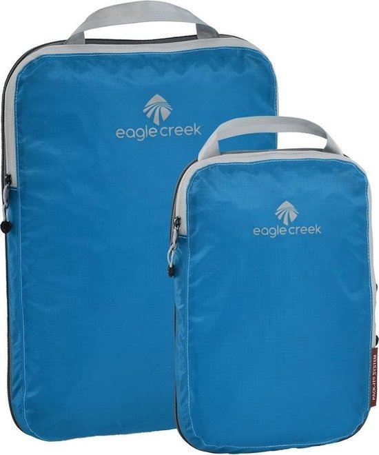 Pack-It Specter™ Compression Cube S Packing cube / koffer organizer - 3L - blauw