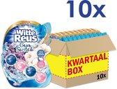 Witte Reus Toiletblok Geur Switch - Lavendel Katoen - Voordeelverpakking- 10 stuks
