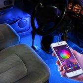 Auto interieur BLUETOOTH led strip|Draadloos|RGB|Waterdicht|Wireless|Styling|