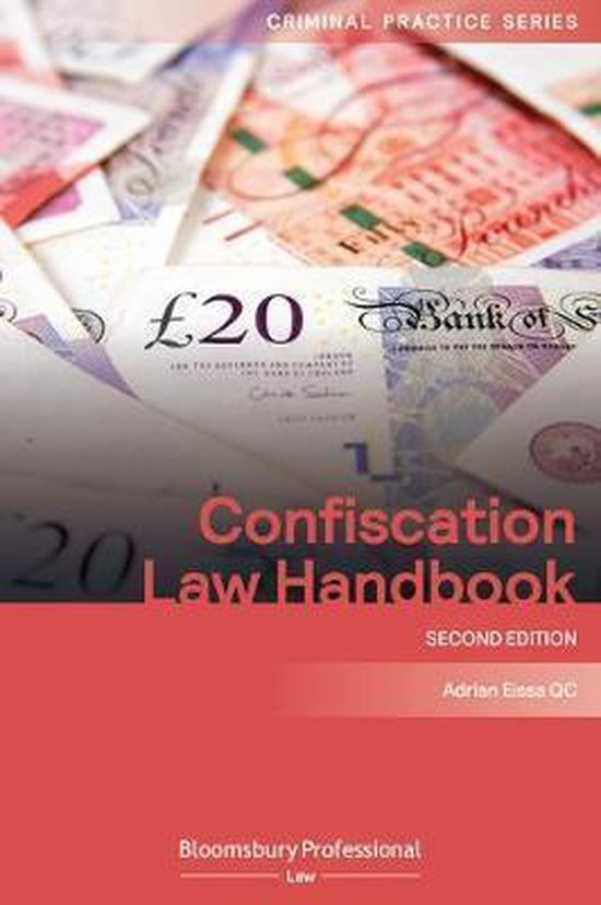 Boek cover Confiscation Law Handbook van Adrian Eissa Qc (Paperback)
