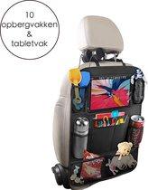 Flokoo Autostoel Organizer Voor Kinderen - Opbergsysteem Auto - Zwart