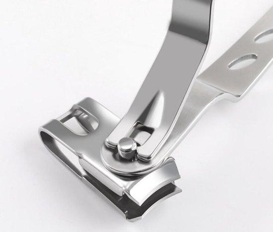 Hiden | Nagelknipper Teennagels -  360 graden - Mooi & Gezond - Pedicure hulpmiddel - Hygiëne | Zilver