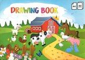 Kids Creative schetsboek - A4 - 80 vellen - 70-grams papier - FSC - verantwoord hout en papier