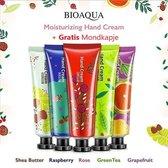 BioAqua  Hand Crème - Natuurlijk - Handbalsem -  Crème - Huidverzorging - Cadeau - Voordeelverpakking - 150 g