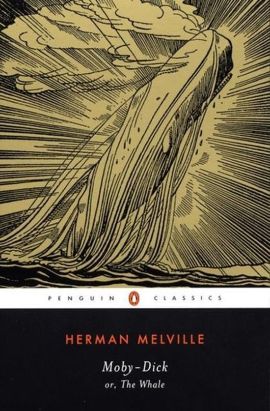Boek cover Moby Dick van Herman Melville (Voordeeleditie)