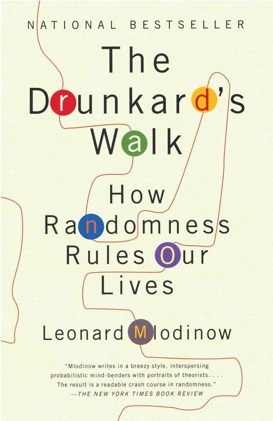 Boek cover The Drunkards Walk van Leonard Mlodinow (Paperback)
