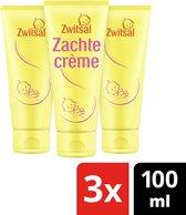Zwitsal Baby Zachte Crème - Voordeelverpakking- 3 x 100 ml
