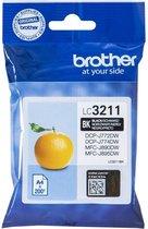 Brother LC-3211BK inktcartridge Origineel Zwart