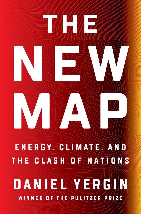 Boek cover The New Map van Daniel Yergin (Hardcover)