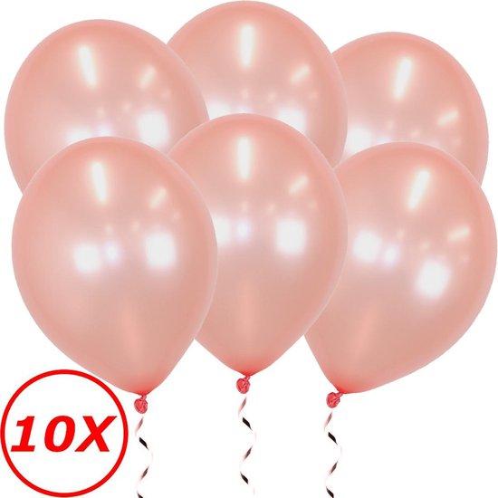 Rosé goud Ballonnen 10 Stuks Feestversiering Verjaardag Metallic Roségoud Ballon