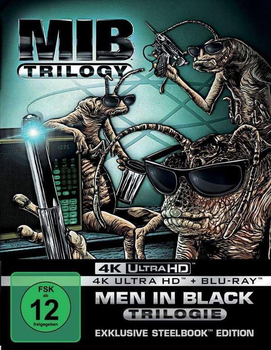 Men in Black 1-3 (Ultra HD Blu-ray & Blu-ray in Steelbook)-
