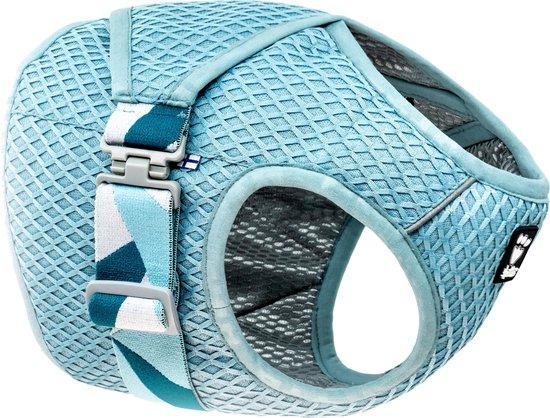 Hurtta Cooling Wrap - Koelvest voor honden - Kleur: Aquamarine - Maat: 40-50 cm