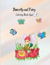 Butterfly and Fairy Coloring Book