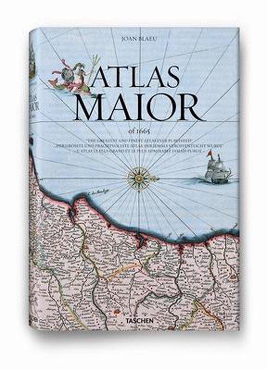 Boek cover Atlas Maior of 1665 van Joan Blaeu (Hardcover)