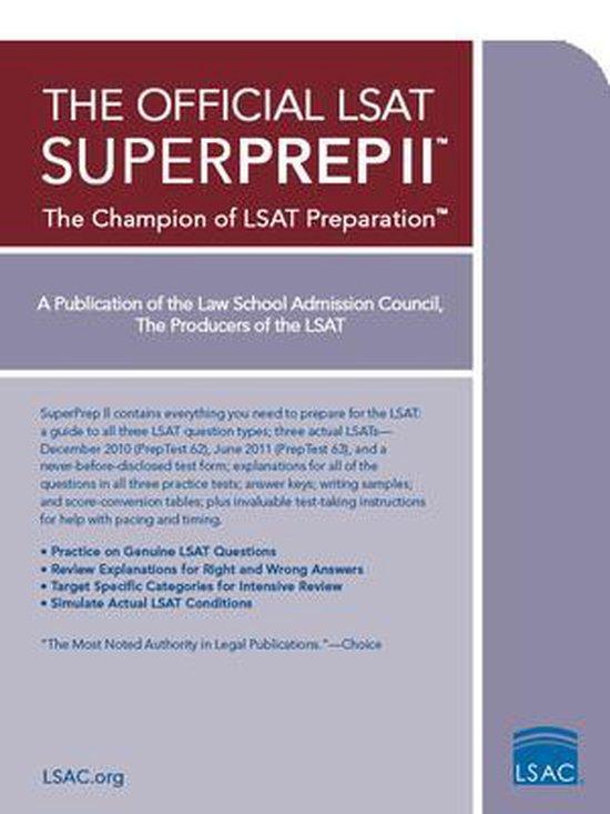 The Official LSAT Superprep II