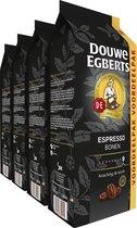 Douwe Egberts Espresso Koffiebonen Voordeelpak - 4 x 1000 gram