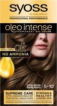 SYOSS Color Oleo Intense 5-10 Cool Bruin haarverf - 1 stuk