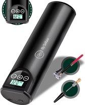 Elektrische Fietspomp met 4 Opzetstukken - Luchtpomp - Draagbaar -  Compressor - Ballenpomp - USB Oplaadbaar - 150 PSI - Pomp