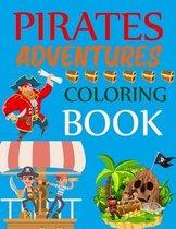 Pirates Adventures Coloring Book