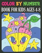 Color By Number book For Kids Ages 4-8
