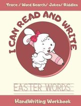 I Can Read and Write Easter Words