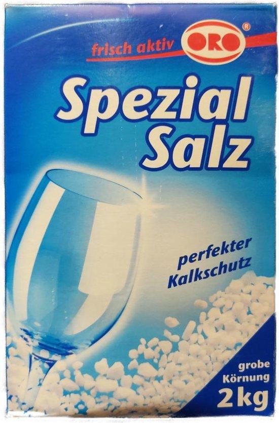 Vaatwaszout - Zout vaatwasser - Zout afwasmachine - Regenereerzout vaatwasser - Onthardingszout vaatwasser - 2 kg