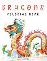 Dragons Coloring Book