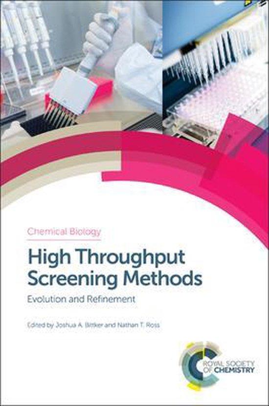 Boek cover High Throughput Screening Methods van Bittker, Joshua A. (Hardcover)